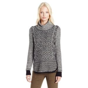 Lucky Brand Side Zip Turtleneck Sweater